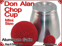 Don Alan Mini Chop Cup | Aluminum | Satin Finish 3
