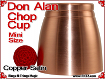 Don Alan Mini Chop Cup | Copper | Satin Finish