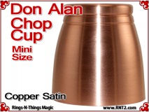 Don Alan Mini Chop Cup | Copper | Satin Finish 5