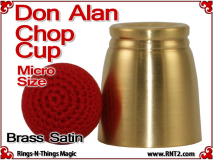 Don Alan Petite Chop Cup | Brass | Satin Finish 2