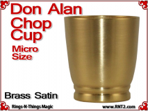 Don Alan Petite Chop Cup | Brass | Satin Finish 4