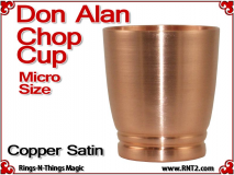 Don Alan Petite Chop Cup | Copper | Satin Finish 4