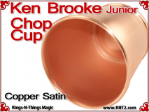 Ken Brooke Junior Chop Cup | Copper | Satin Finish 4