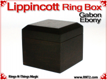 Lippincott Ring Box | Gabon Ebony 1