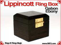 Lippincott Ring Box | Gabon Ebony 2