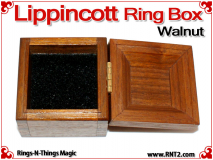 Lippincott Ring Box | Walnut 3