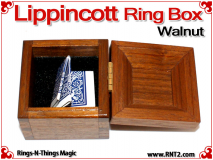 Lippincott Ring Box | Walnut 5