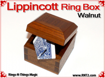 Lippincott Ring Box | Walnut 6