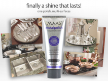 Maas Metal Polish - 2oz.