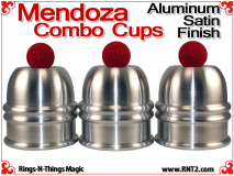 Mendoza Combo Cups | Aluminum | Satin Finish