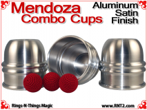 Mendoza Combo Cups | Aluminum | Satin Finish 3