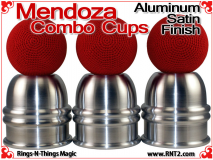 Mendoza Combo Cups | Aluminum | Satin Finish 4