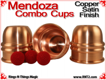 Mendoza Combo Cups | Copper | Satin Finish 3