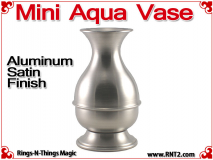 Mini Aqua Vase | Aluminum | Satin Finish 1