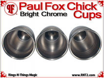 Paul Fox Chick Cups | Copper | Bright Chrome 5