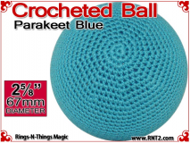 Parakeet Blue Crochet Ball | 2 5/8 Inch (67mm)