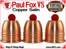 Paul Fox VS Cups | Copper | Satin Finish