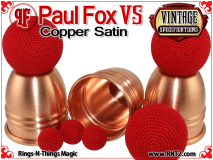 Paul Fox VS Cups | Copper | Satin Finish 4