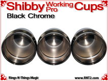 Shibby Working Pro Cups | Copper | Black Chrome 4