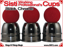 Sisti Cups | Copper | Black Chrome Finish 4