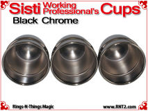 Sisti Cups | Copper | Black Chrome Finish 5