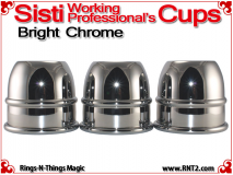 Sisti Working Professional's Cups | Copper | Bright Chrome 2