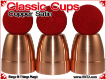 Classic Cups | Copper | Satin Finish