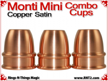 Monti Mini Combo Cups | Copper | Satin Finish 2
