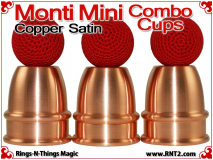 Monti Mini Combo Cups | Copper | Satin Finish 3