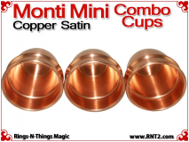 Monti Mini Combo Cups | Copper | Satin Finish 5