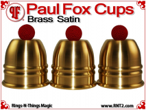 Paul Fox Cups | Brass | Satin Finish 1