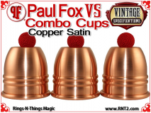 Paul Fox VS Combo Cups | Copper | Satin Finish