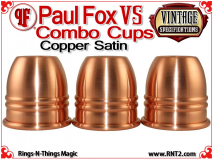 Paul Fox VS Combo Cups | Copper | Satin Finish 2