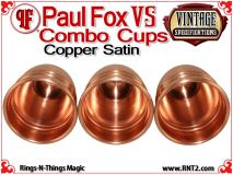 Paul Fox VS Combo Cups | Copper | Satin Finish 5