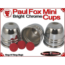 Paul Fox Mini Cups | Copper | Bright Chrome Finish 3