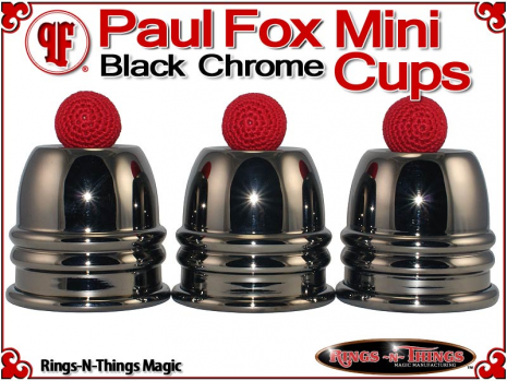 Paul Fox Mini Cups | Copper | Black Chrome