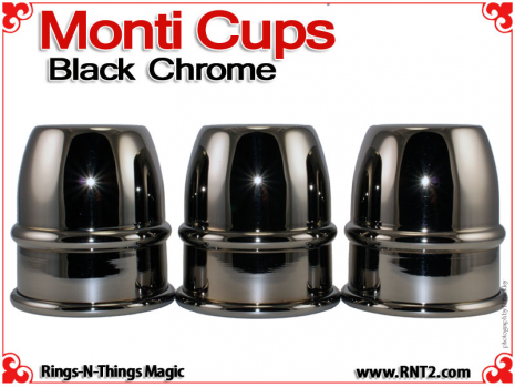Monti Cups | Copper | Black Chrome 2