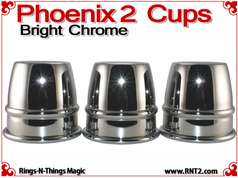 Phoenix 2 Cups | Copper | Bright Chrome 2