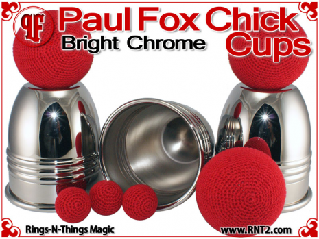 Paul Fox Chick Cups | Copper | Bright Chrome 3