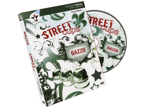 DVD: Gazzo, Street Cups (plus Book: Street Cups and Balls)