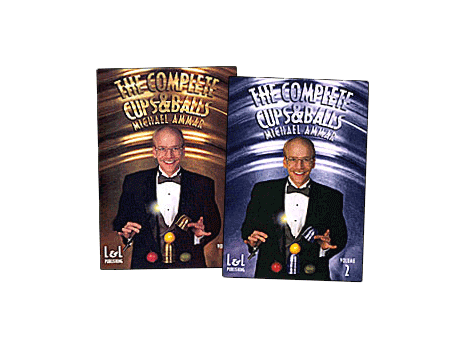 DVD: Michael Ammar, The Complete Cups and Balls Vol. 1