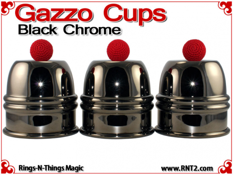 Gazzo Cups | Copper | Black Chrome 1