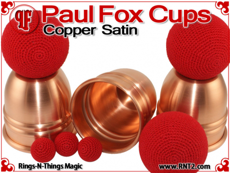 Paul Fox Cups | Copper | Satin Finish 4