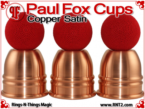 Paul Fox Cups | Copper | Satin Finish 5