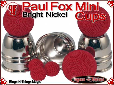 Paul Fox Mini Cups | Copper | Bright Nickel 4