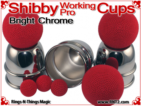 Shibby Working Pro Cups | Copper | Bright Chrome 3