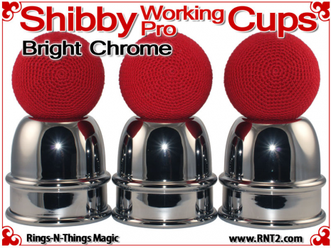 Shibby Working Pro Cups | Copper | Bright Chrome 4
