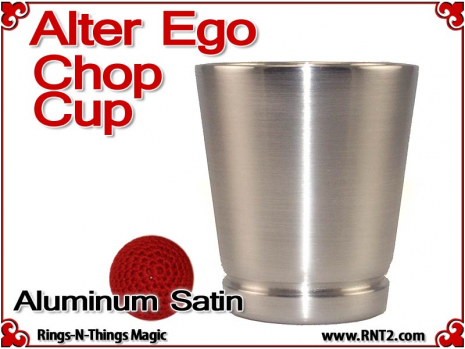 Alter Ego Chop Cup | Aluminum | Satin Finish 4