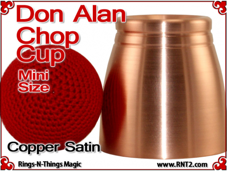 Don Alan Mini Chop Cup | Copper | Satin Finish 2