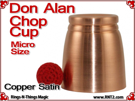 Don Alan Petite Chop Cup | Copper | Satin Finish